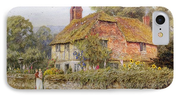 A Surrey Cottage Phone Case by Helen Allingham