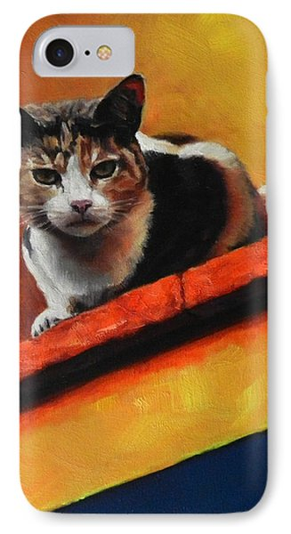 A Top Cat In The Shadow IPhone Case