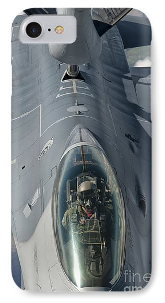 A U.s. Air Force F-16c Fighting Falcon Phone Case by Giovanni Colla