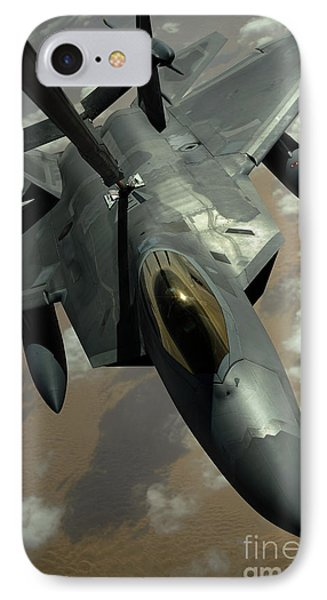 A U.s. Air Force F-22 Raptor Phone Case by Stocktrek Images