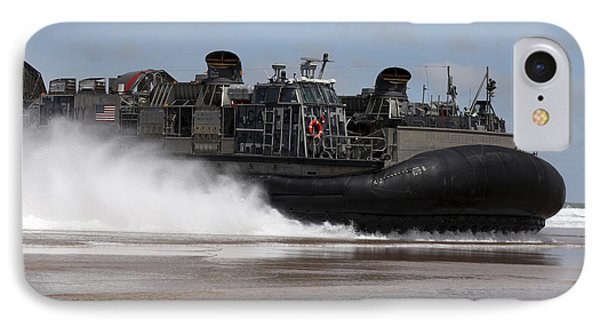 A U.s. Navy Landing Craft Air Cushion Phone Case by Stocktrek Images