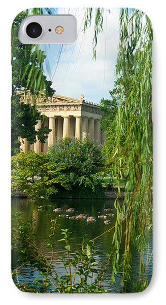 A View Of The Parthenon 17 IPhone Case