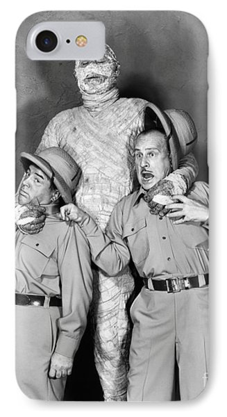 Abbott And Costello IPhone Case by Granger