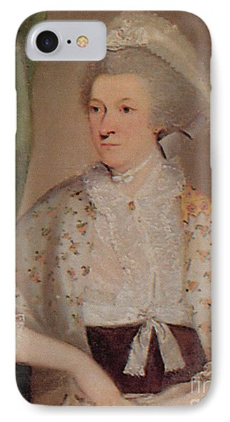 Abigail Adams IPhone Case by Photo Researchers