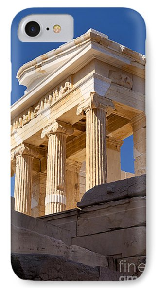 Acropolis Temple IPhone Case by Brian Jannsen