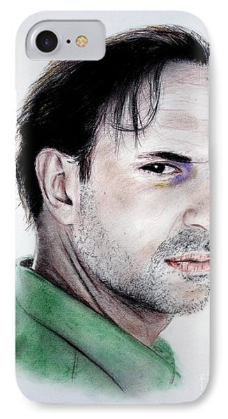 Actor Oscar Torre Phone Case by Jim Fitzpatrick
