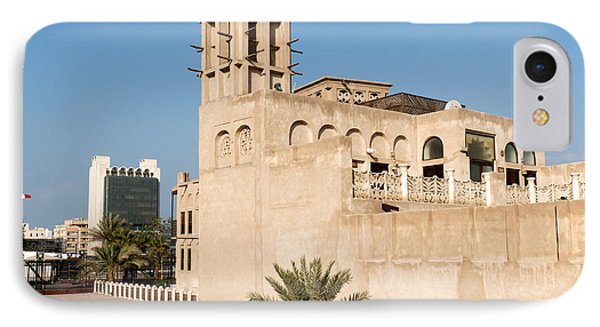 Al Bastakiya District Phone Case by Fabrizio Troiani