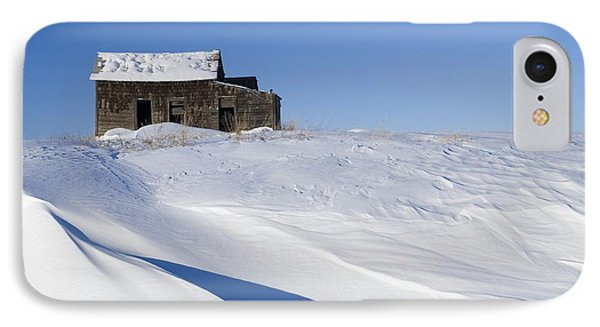 Alberta, Canada Abandoned Farm Building Phone Case by Philippe Widling