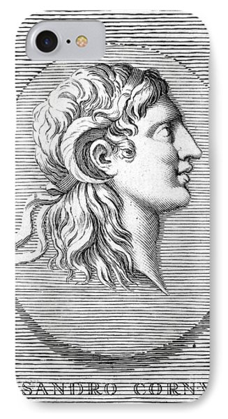 Alexander The Great (356-323 B.c.) Phone Case by Granger