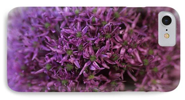 Allium Flower (allium Sp.) Phone Case by Cristina Pedrazzini
