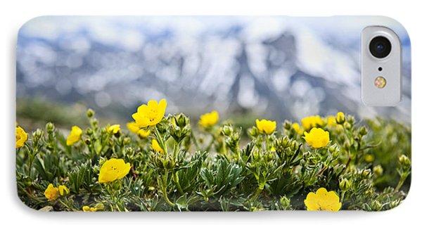 Alpine Meadow In Jasper National Park Phone Case by Elena Elisseeva