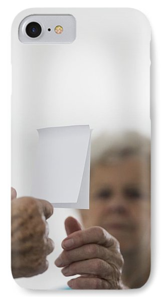 Alzheimer's Disease, Conceptual Image IPhone Case by Cristina Pedrazzini