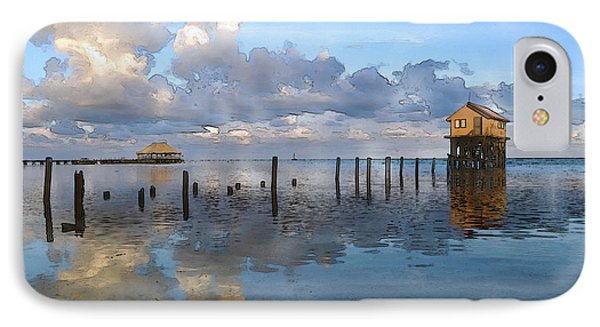 Ambergris Caye Belize IPhone Case