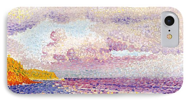 An Incoming Storm IPhone Case by Henri-Edmond Cross
