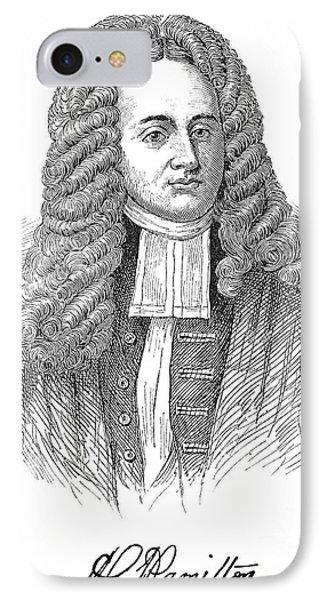 Andrew Hamilton IPhone Case by Granger