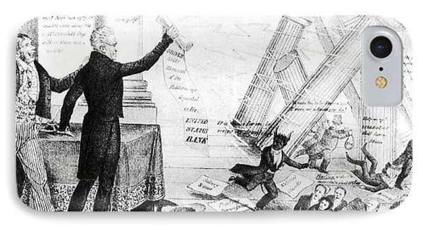 Andrew Jackson Cartoon Phone Case by Granger