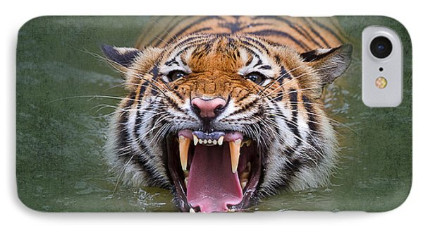 Angry Tiger IPhone Case