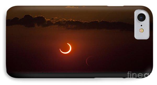 Annular Solar Eclipse Phone Case by Phillip Jones