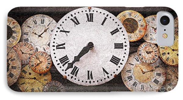 Antique Clocks Phone Case by Elena Elisseeva