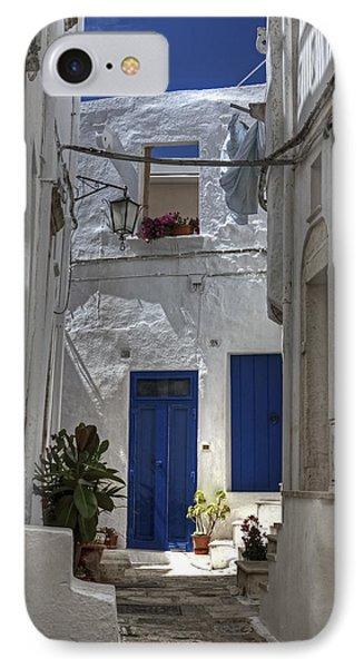 Apulia - Blue-white Phone Case by Joana Kruse