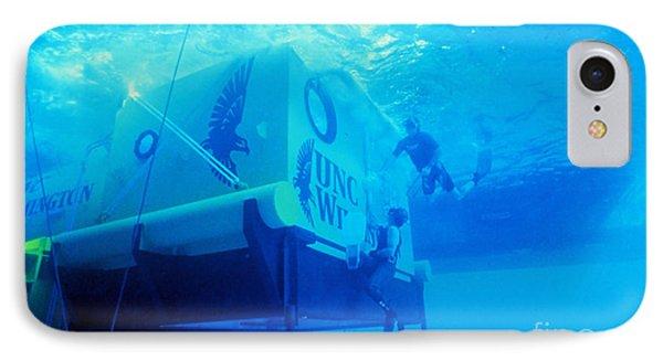 Aquarius Underwater Ocean Laboratory Phone Case by Science Source