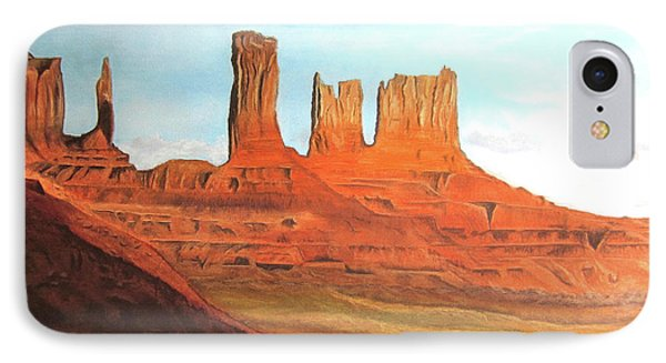 Arizona Monuments IPhone Case