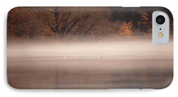As The Fog Lifts Phone Case by Karol Livote