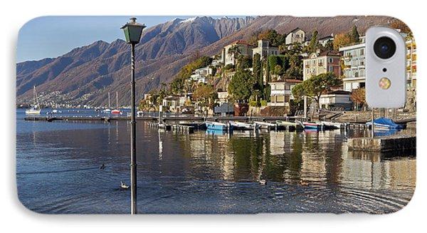 Ascona - Lake Maggiore Phone Case by Joana Kruse