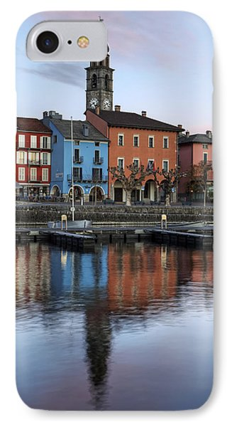 Ascona Am Abend IPhone Case by Joana Kruse