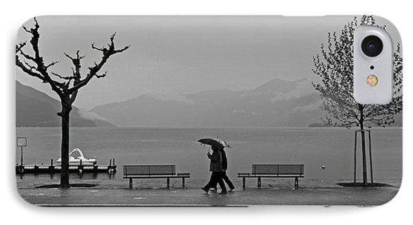 Ascona With Rain IPhone Case by Joana Kruse
