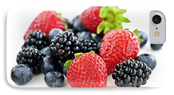 Assorted Fresh Berries Phone Case by Elena Elisseeva