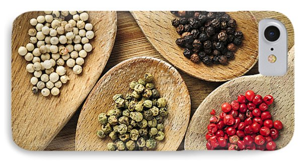 Assorted Peppercorns Phone Case by Elena Elisseeva
