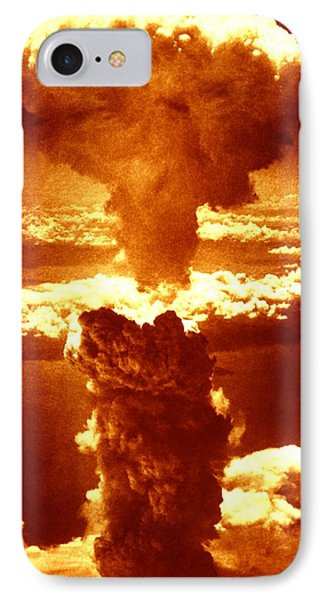 Atomic Burst Over Nagasaki, 1945 IPhone Case by Us National Archives And Records Administration