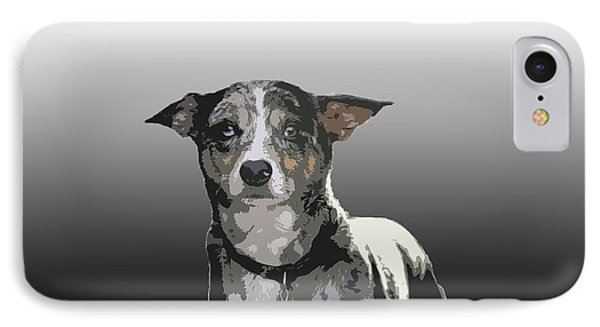 Australian Cattle Dog Sheltie Mix Phone Case by One Rude Dawg Orcutt