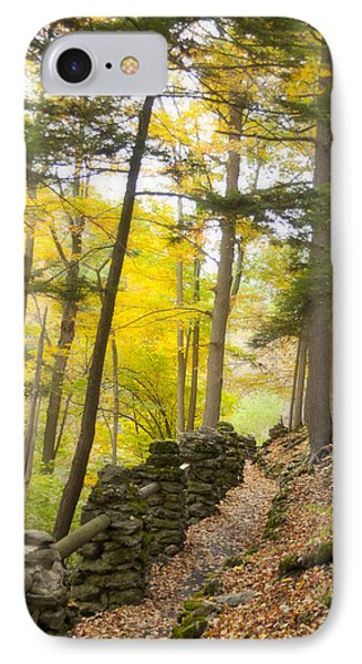 Autumn Hike IPhone Case by Cindy Haggerty