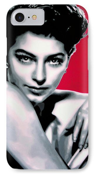 Ava IPhone Case by Luis Ludzska