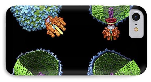 Bacteriophage P22, Computer Model IPhone Case