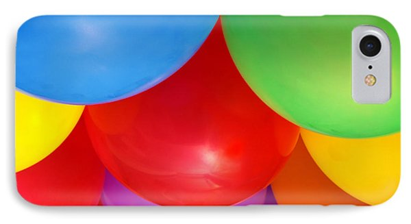 Balloons Background IPhone Case by Carlos Caetano