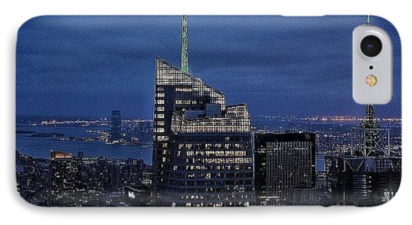 Bank Of America Tower - Ny IPhone Case