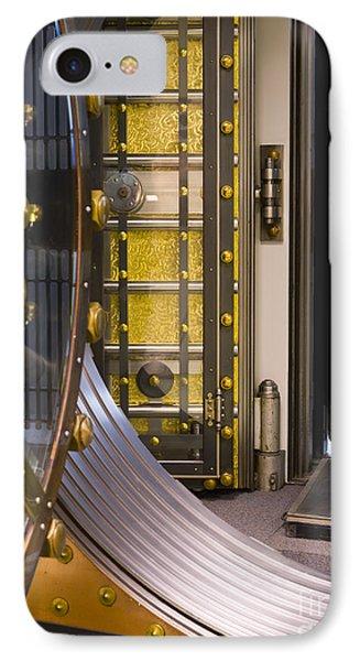 Bank Vault Doors Phone Case by Adam Crowley