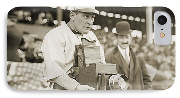 Baseball: Camera, C1911 Phone Case by Granger