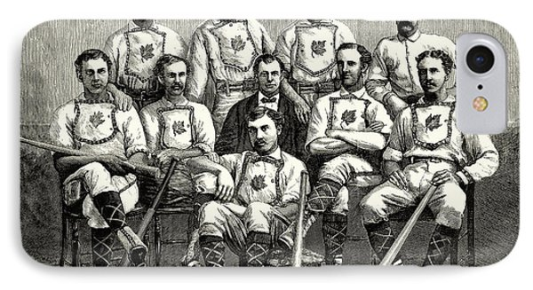 Baseball: Canada, 1874 Phone Case by Granger