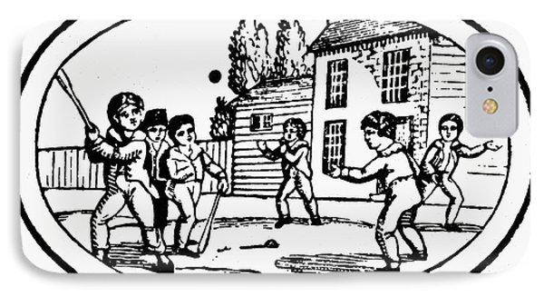 Baseball Game, 1820 Phone Case by Granger