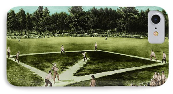Baseball In 1846 Phone Case by Omikron