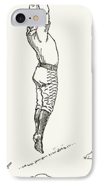 Baseball Player, 1889 IPhone Case by Granger