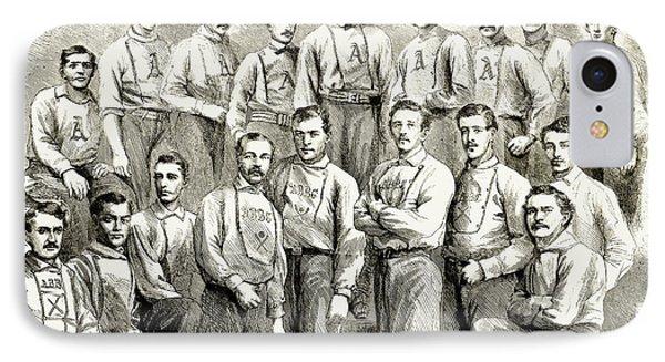 Baseball Teams, 1866 Phone Case by Granger