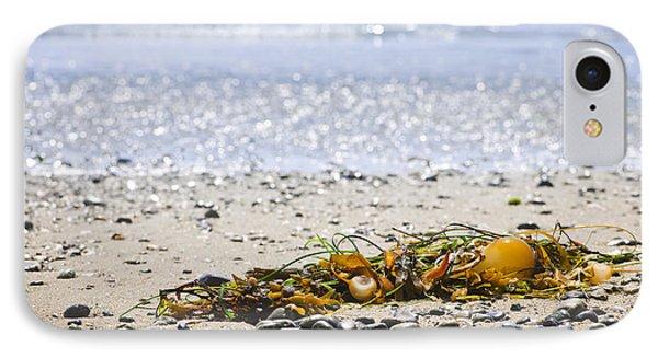 Beach Detail On Pacific Ocean Coast Phone Case by Elena Elisseeva