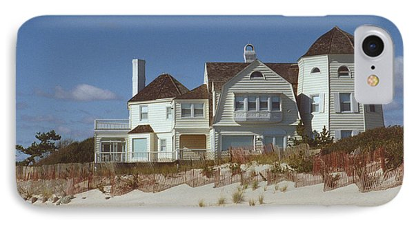 Beach House IPhone Case by Mark Greenberg