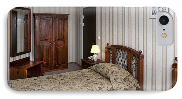 Beds In Hotel Room Phone Case by Jaak Nilson
