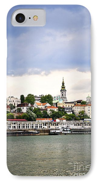 Belgrade Cityscape On Danube IPhone Case